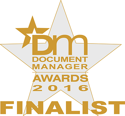 YourBPO are finalists in the Document Manager Awards 2016
