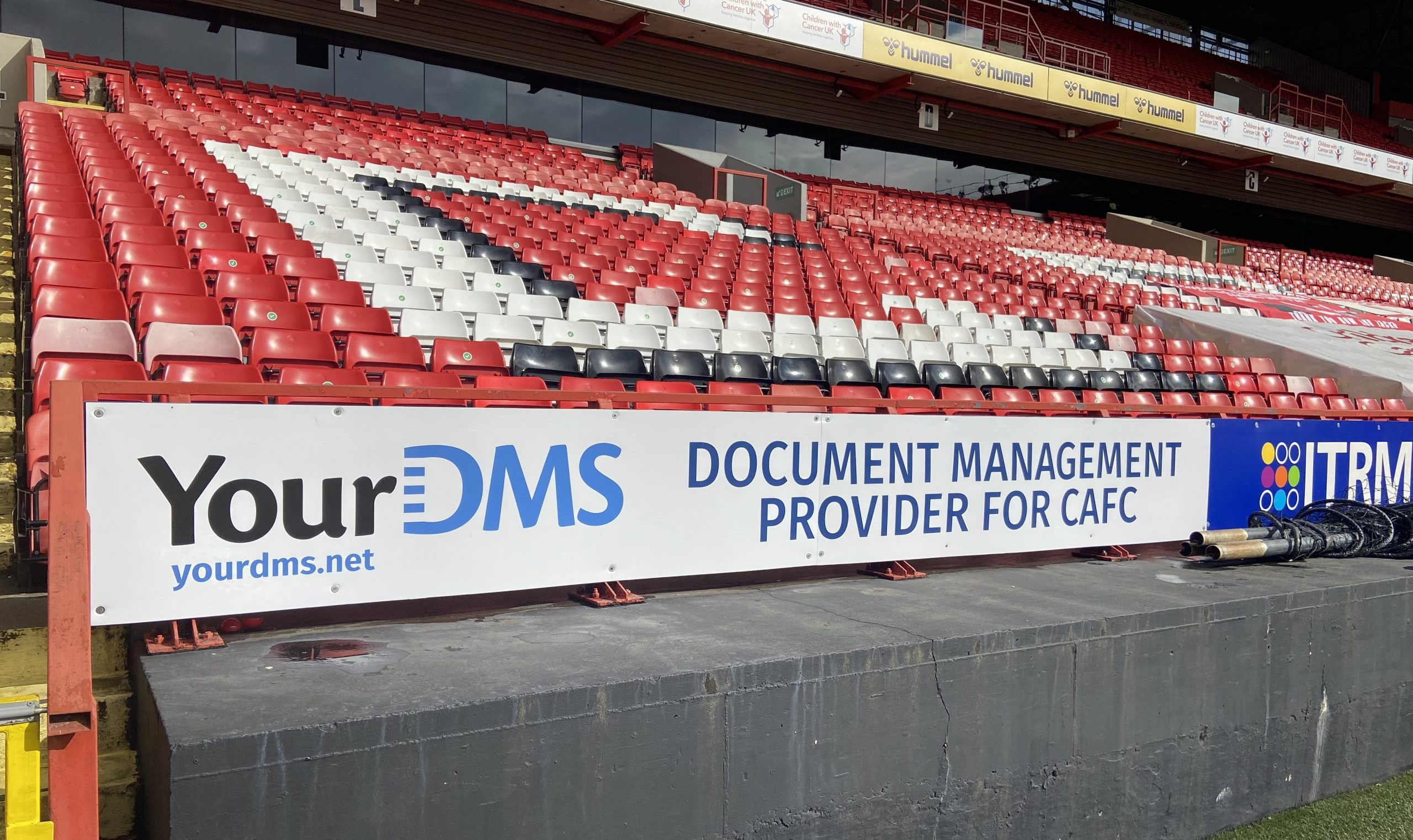 YourDMS supporting Charlton Athletic FC